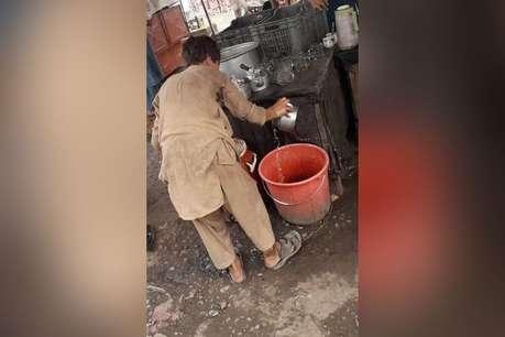 पाकिस्तान में अपने ही बच्चे को चेन से बांधकर काम करवा रहा था पिता, गिरफ्तार