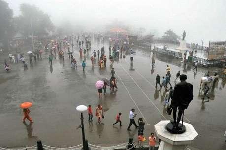 हिमाचल में येलो अलर्ट: 8 जिलों में भारी बारिश की संभावना