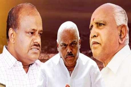 कुछ यूं बीता कर्नाटक की राजनीति में बुधवार का दिन, सरकार बनाने पर BJP भी पशोपेश में