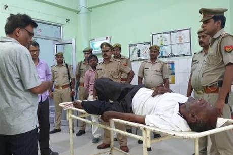 मथुरा: पुलिस मुठभेड़ में घायल हुआ एक लाख का इनामी ओमवीर