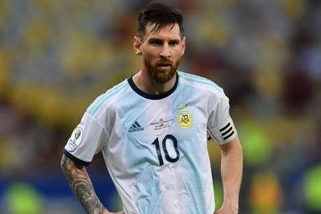 पहले विश्व कप क्वालीफायर मैच से निलंबित हुए मेस्सी, लगा इतना जुर्माना
