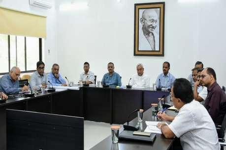 बाढ़ को लेकर हाई अलर्ट पर बिहार सरकार, CM नीतीश कुमार ने किया हवाई सर्वे