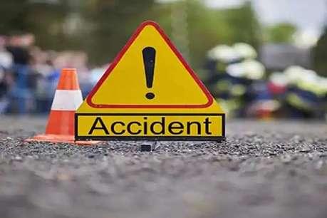 ट्रक और ट्रैक्टर की टक्कर में 3 लोगों की मौत, 2 घायल