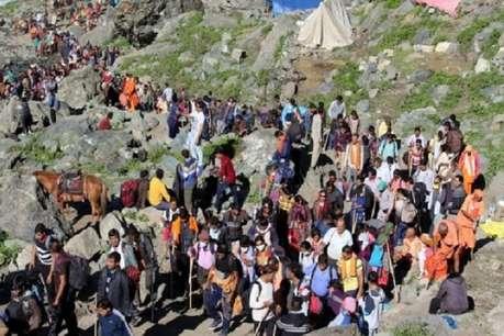 पहले 5 दिन में 67,000 से अधिक श्रद्धालुओं ने की अमरनाथ यात्रा, अब दूसरा जत्था रवाना
