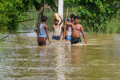 बिहार में बाढ़ का कहर, 123 लोगों की मौत, 81 लाख प्रभावित