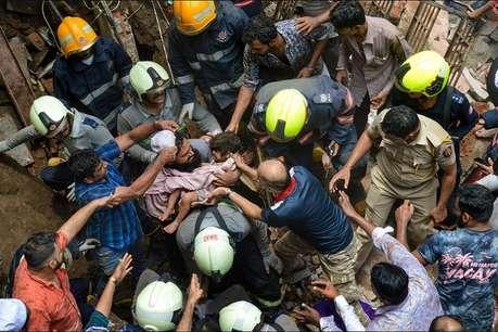 मुंबई बिल्डिंग हादसे में मृतकों की संख्या हुई 14, मलबे में अब भी फंसे हैं कई लोग