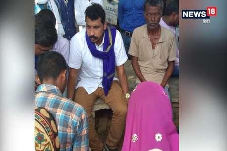 सोनभद्र: चुपके से उम्भा गांव पहुंचे भीम आर्मी चीफ चंद्रशेखर, पीड़ितों के लिए मांगी सुरक्षा