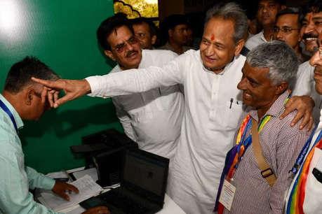 मुख्यमंत्री अशोक गहलोत ने किसानों से  कहा- 'सरकार एहसान नहीं कर रही'