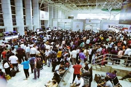 मुंबई हवाई अड्डे की मुख्य हवाई पट्टी बंद, 75 उड़ानें रद्द