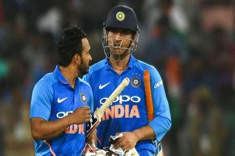 ICC World Cup : तो वेस्टइंडीज के निचले क्रम के बल्लेबाजों से भी गए गुजरे हैं धोनी-जाधव