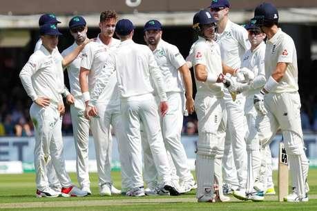 वर्ल्ड कप जीतने के दस दिन बाद इंग्लैंड की टीम 85 रनों पर ढेर