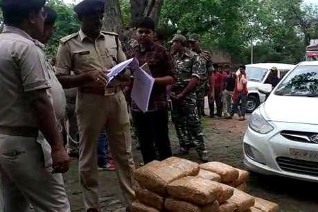 विशाखापट्टनम से पटना जा रही थी गांजे की खेप, कोडरमा पुलिस ने जब्त किया