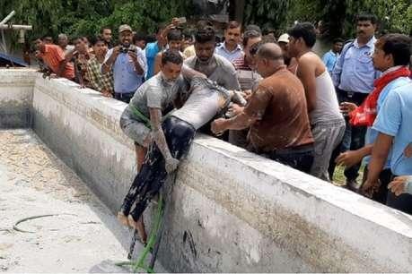 सुधा डेयरी की टंकी में गिरा 12 साल का बच्चा, हुई मौत