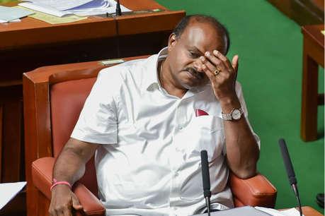 फ्लोर टेस्ट का सामना किए बगैर ही राज्यपाल को इस्तीफा सौंप सकते हैं कुमारस्वामी!