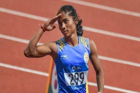 हिमा दास के छठे स्वर्ण की राह में आई ये मुसीबत, बिना दौड़े ही लौटना पड़ सकता है भारत!