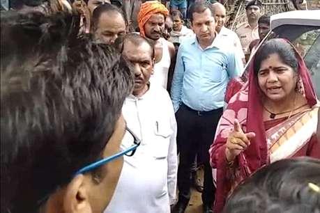 इमरती देवी से शराबी डॉक्टर ने कहा-..प्रभारी मंत्री लाखन सिंह यादव मेरे चाचा हैं