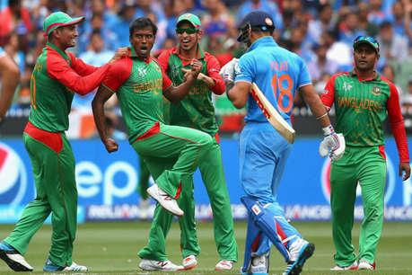 ICC World Cup : बांग्लादेश से सावधान रहने की जरूरत, एक बार भारत को कर चुका है बाहर