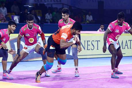 PKL 2019: जयपुर पिंक पैंथर्स ने यू मुंबा को 42-23 से रौंदा, जीत से खोला खाता