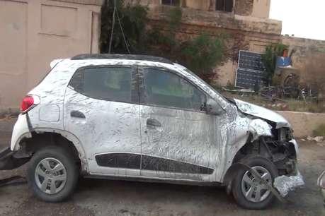 कैथल में तेज रफ्तार कार ने 4 मजदूरों को कुचला, एक की हालत गंभीर