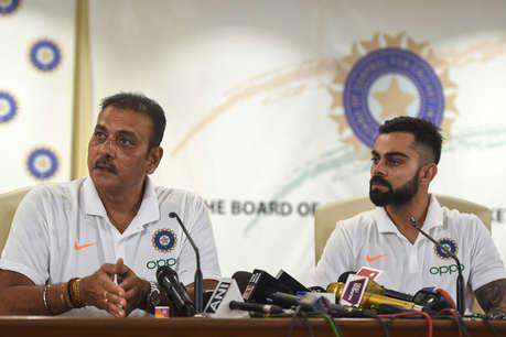 बड़ी खबर: रवि शास्त्री पर गिर सकती है गाज, बीसीसीआई ने मुख्य कोच के लिए मंगाए आवेदन