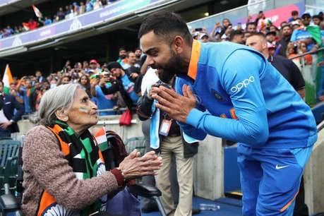 कप्तान कोहली ने निभाया फैन से किया वादा, श्रीलंका मैच की टिकट और स्पेशल मैसेज भेजा