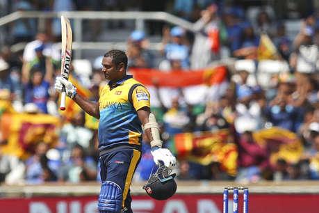 एंजेलो मैथ्यूज का शतक, वर्ल्ड कप में पहली और इंडिया के खिलाफ तीसरी सेंचुरी