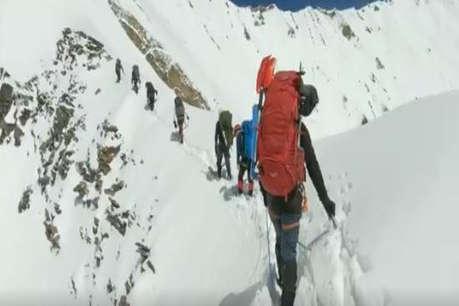 ITBP ने नंदा देवी चोटी पर मरनेवाले पर्वतारोहियों का जारी किया आखिरी वीडियो