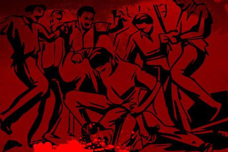 वैशाली: बैंक में चोरी के शक में दो लोगों को भीड़ ने पीटा