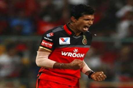 नवदीप सैनी की किस्मत का सितारा चमका, इंडिया की वनडे और टी-20 टीम में हुआ चयन