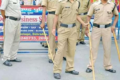 आंदोलन कर रहे 108 सेवा कर्मचारियों पर पुलिस ने भांजी लाठियां, कई घायल