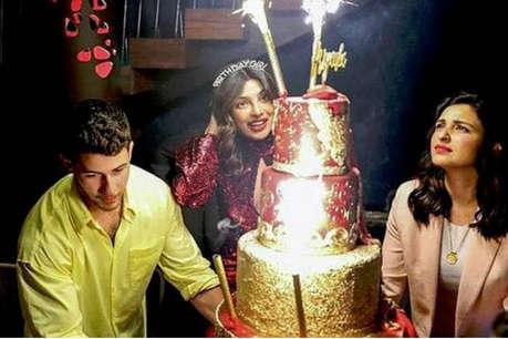 बीवी प्रियंका चोपड़ा के बर्थडे पर इतने लाख रुपये का केक मंगाए थे निक जोनास