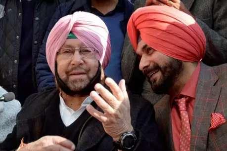 सिद्धू के खिलाफ कैप्टन के तीन मंत्रियों ने खोला मोर्चा, दिल्ली में अहमद पटेल से की शिकायत