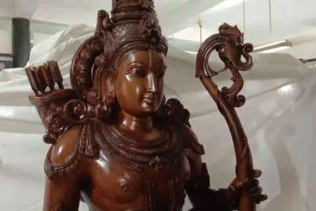 अयोध्या: अष्टधातु की राम, सीता और लक्ष्मण की मूर्तियां मंदिर में वापस रख गए चोर