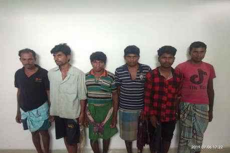 संगीन वारदातों में शामिल 8 नक्सली सुकमा से गिरफ्तार
