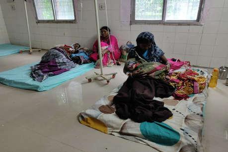 सुकमा में आफत की बारिश, आधी रात बनाया गया टेंपोररी हॉस्पिटल, हुई तीन डिलिवरी