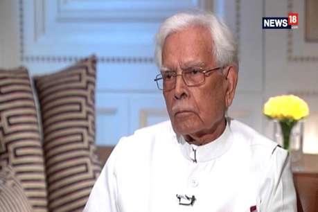नटवर सिंह बोले- कोई गांधी ही बने अध्यक्ष वरना 24 घंटे में टूट जाएगी पार्टी