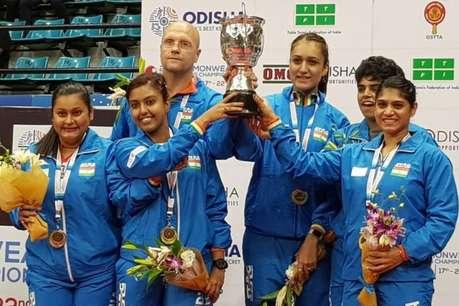 Commonwealth Table Tennis Championships: महिला टीम ने पहली बार जीता खिताब, पुरुष टीम लगातार दूसरी बार बनी चैंपियन
