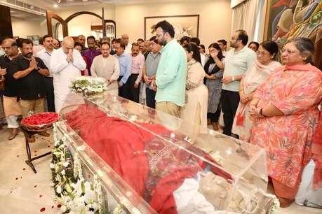 Image result for अरुण जेटली अंतिम विदाई