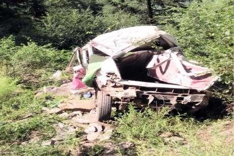 हिमाचल के चंबा में हादसा, 2 महिलाओं समेत 3 सवार की मौत