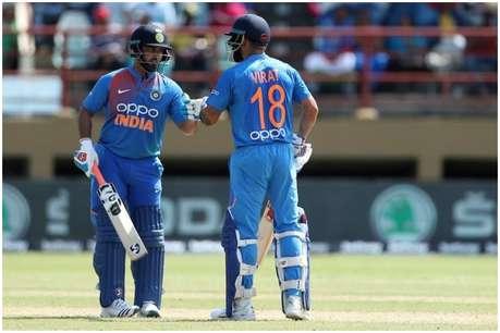 वेस्टइंडीज के खिलाफ पहले वनडे में बड़ा रिकॉर्ड तोड़ सकते हैं विराट, 'नंबर 1' बनने से 11 रन दूर क्रिस गेल