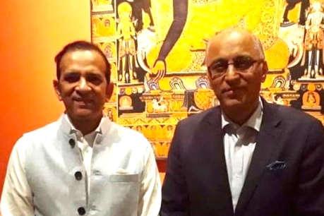 भारत आने से पहले भारतीय उच्चायुक्त से मिले इमरान खान के खास नए पाकिस्तानी उच्चायुक्त