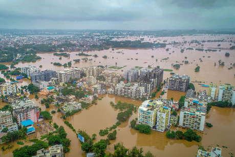 महाराष्ट्र बाढ़: नदियों का जलस्तर कम होने से हालात सुधरे, अब तक 43 की मौत