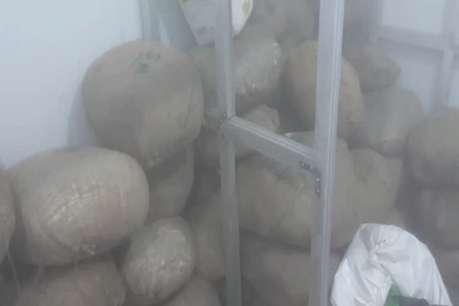 खाद्य विभाग-पुलिस की कार्रवाई में 7 क्विंटल दूषित मावा जब्त, जेसीबी से जमीन में किया नष्ट
