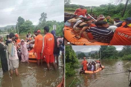 बाढ़ पीड़ित सांगली जिले में हेलीकॉप्टर के जरिए गिराई जाएगी राहत सामग्री