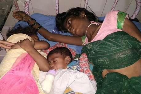 CM नीतीश के गांव की एक मां अपने बच्चों को बेचना चाहती है, पढ़ें वजह