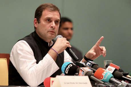 राहुल गांधी का पलटवार, गवर्नर मलिक से पूछा- बिना शर्तों के कब आ सकता हूं कश्मीर