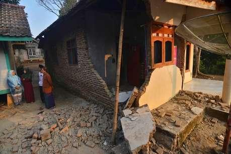 इंडोनेशिया में आए तेज़ भूकंप से पांच लोगों की मौत, कई घायल