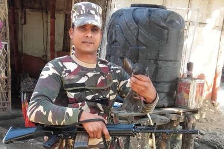 रक्षाबंधन की खुशियां मातम में तब्दील, छुट्टी मनाने आए BSF जवान की मौत
