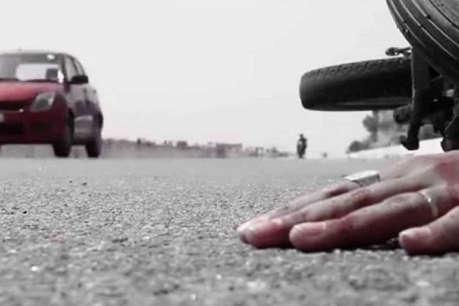 बलिया में भीषण सड़क हादसा, बाइक सवार पिता-पुत्र समेत 3 लोगों की मौत