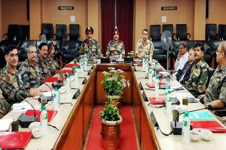 श्रीनगर में खुफिया-सुरक्षा एजेंसियों की मीटिंग, कमांडर बोले- पाक की हिमाकत का देंगे मुंहतोड़ जवाब